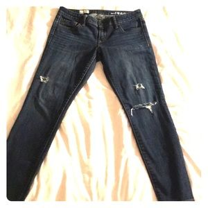 💐GAP Always Skinny Distressed Jeans